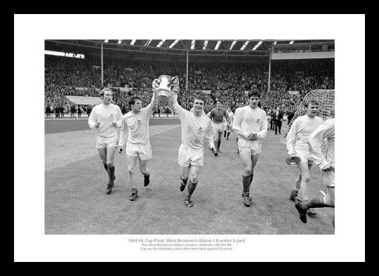 1968 FA Cup Final westbrom1968finalprintPA2013114jpg