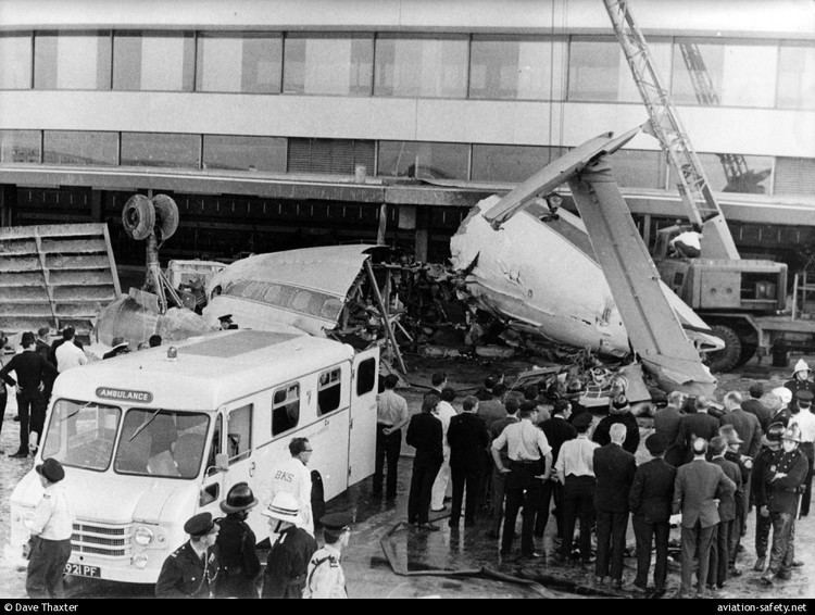 1968 Heathrow BKS Air Transport Airspeed Ambassador crash httpscdnaviationsafetynetphotosaccidents1