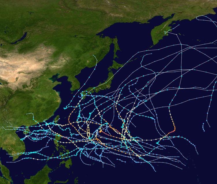 1968 Pacific typhoon season