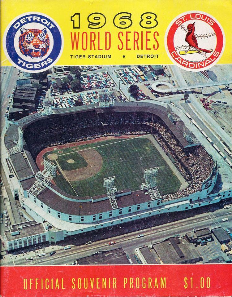 1968 World Series wwwbaseballalmanaccomimages1968WorldSeries
