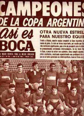 1969 Copa Argentina Boca 2016 Boca Campen Copa Argentina 1969