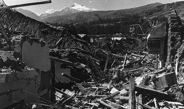 1970 Ancash earthquake Top 10 Deadliest Earthquakes In History