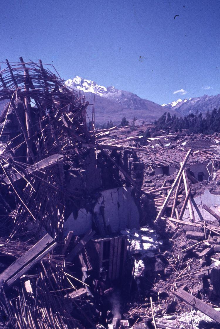 1970 Ancash earthquake thegeosphere Ancash Peru