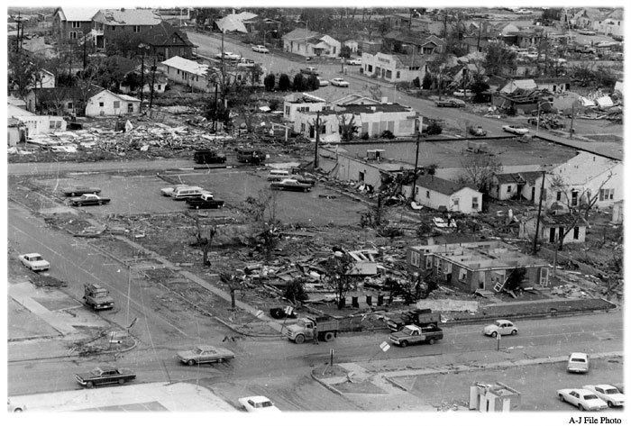 1970 Lubbock tornado The Lubbock Centennial 19092009 presented by The Lubbock