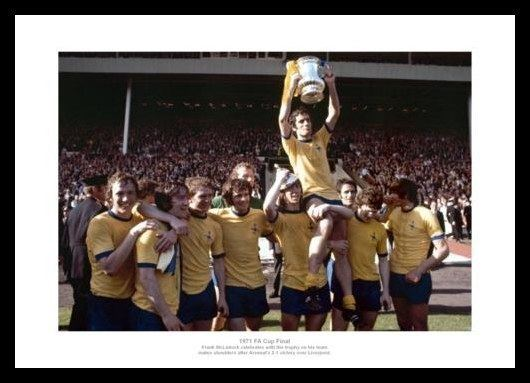 1971 FA Cup Final Arsenal 1971 FA Cup Final Team Celebrations Photo Memorabilia