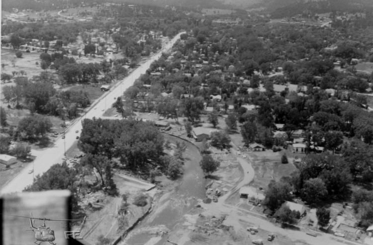 1972 Black Hills flood SD Water Science Center 1972 Black HillsRapid City Flood Revisited
