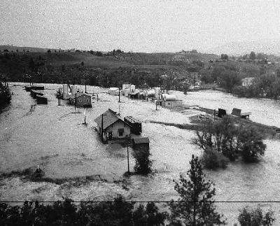 1972 Black Hills flood USGS SD Water Science Center Black Hills Area Floods A historical