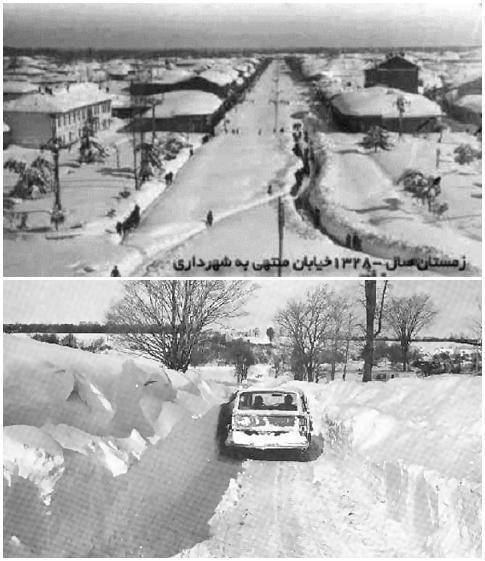 1972 Iran blizzard Discussion The Deadliest Blizzard happened in Iran in 1972 4000