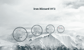 1972 Iran blizzard Iran Blizzard 1972 by Taya Pyne on Prezi