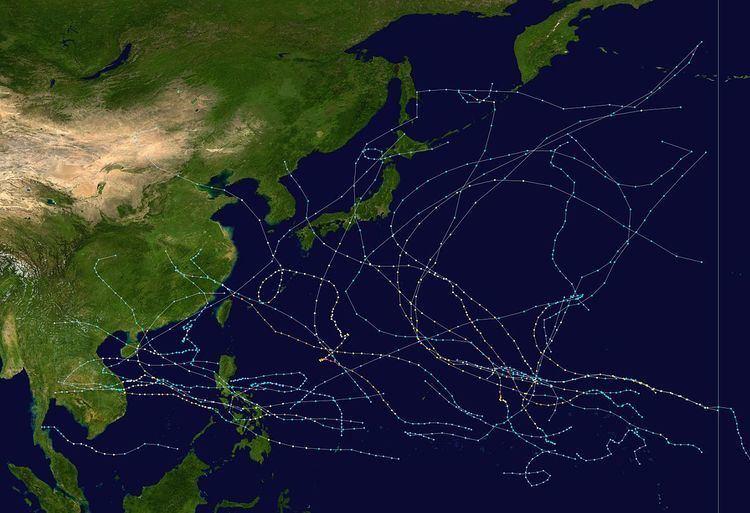 1972 Pacific typhoon season