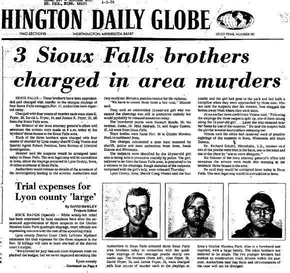1973 Gitchie Manitou Murders