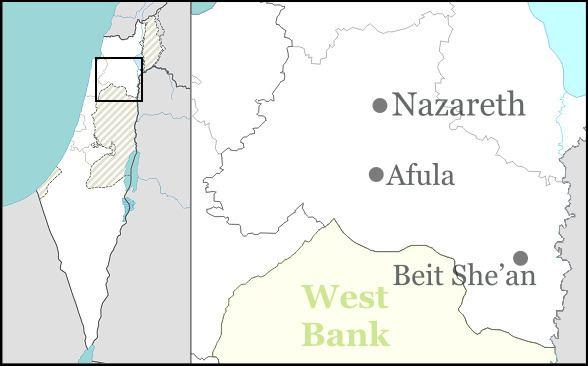 1974 Beit She'an attack