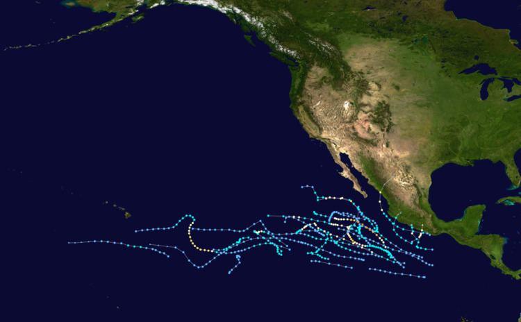1974 Pacific hurricane season