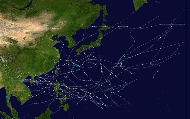 1974 Pacific typhoon season