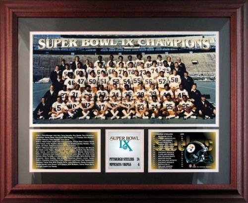 1974 Pittsburgh Steelers season wwwhalloffamememorabiliacomimagesproductsp13