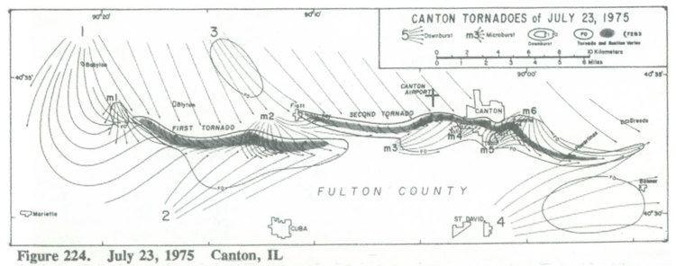 1975 Canton, Illinois, tornado