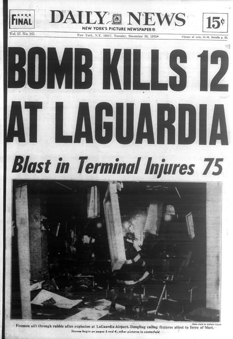 1975 LaGuardia Airport bombing LaGuardia Airport bombing kills more than 10 in 1975 NY Daily News