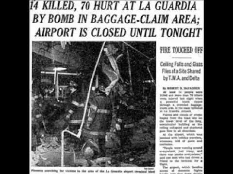 1975 LaGuardia Airport bombing Radio Program Interrupted with Report on Dec 29 1975 LaGuardia