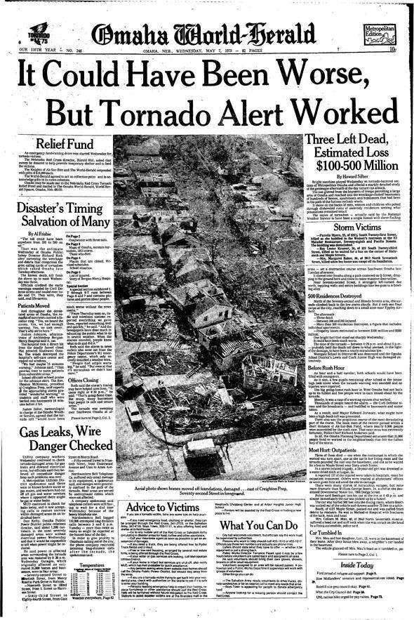1975 Omaha tornado outbreak Pinterest The world39s catalog of ideas