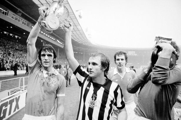 1976 Football League Cup Final Man City vs Newcastle Nostalgia Dennis Tueart proves a real menace