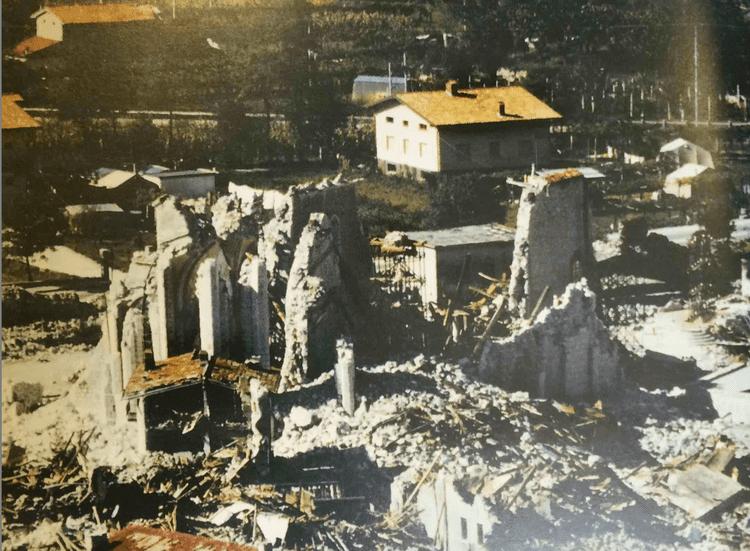 1976 Friuli earthquake Medieval buildings affected by the 1976 Friuli earthquake ArMedEa