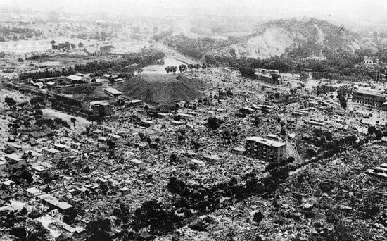 1976 Tangshan earthquake CHINA EARTHQUAKE OF JLULY 28 1976 IN TANGSHAN by Dr George