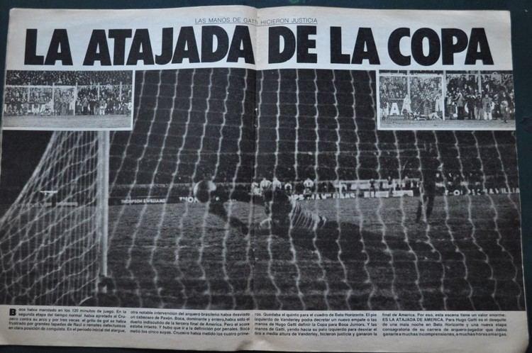 1977 Copa Libertadores A 37 de la primer Copa Libertadores