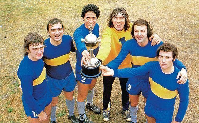 1977 Copa Libertadores Boca Juniors Campen Copa Libertadores 1977 Xenen