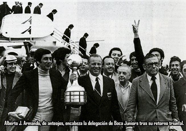 1977 Copa Libertadores Boca Juniors campen Copa Libertadores 1977 Conmebolcom