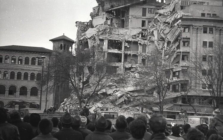 1977 Vrancea earthquake The Bucharest Earthquake of 1977 Bucharest