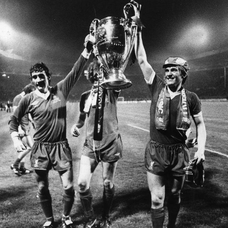 1978 European Cup Final Terry McDermott amp Kenny Dalglish celebrate winning the 1978 European