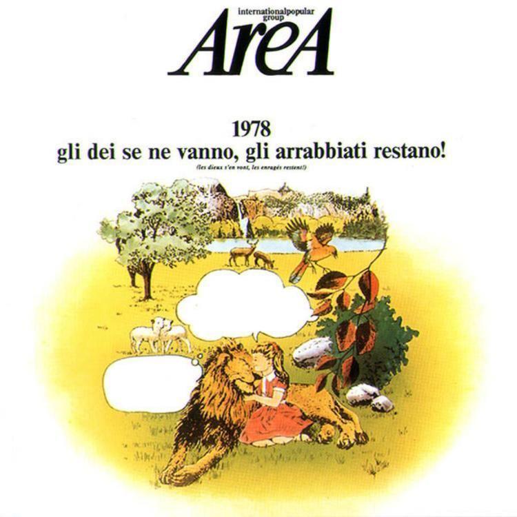 1978 Gli Dei Se Ne Vanno, Gli Arrabbiati Restano! wwwprogarchivescomprogressiverockdiscography
