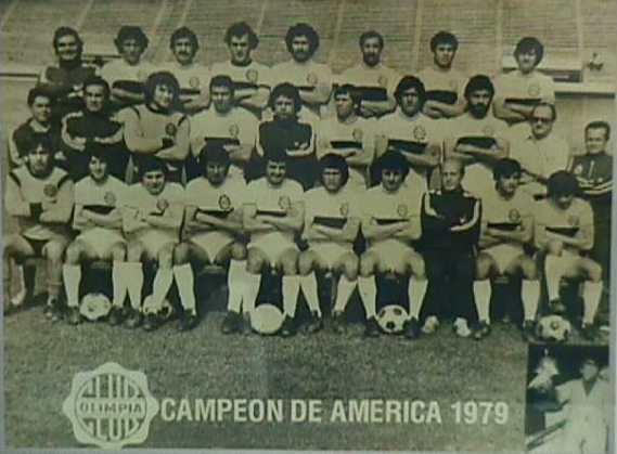 1979 Copa Libertadores Copa libertadores 1979 Olimpia campeon Taringa