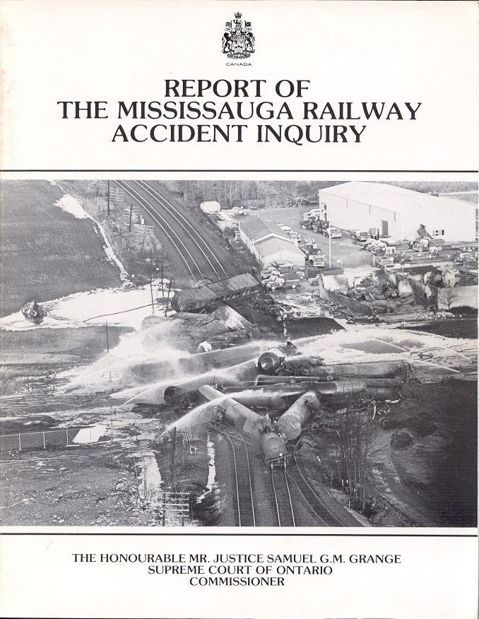 1979 Mississauga train derailment OKthePK Public Canadian Railway News
