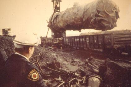 1979 Mississauga train derailment Mississaugaca Residents Mississauga Train Derailment