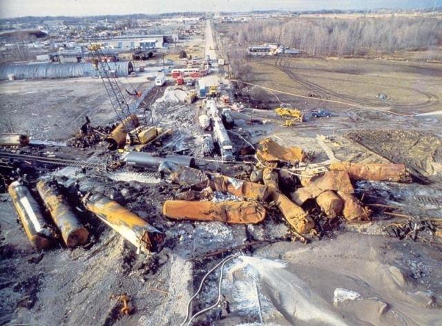 1979 Mississauga train derailment Heritage Mississauga