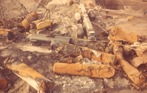 1979 Mississauga train derailment Mississaugaca Residents Browse amp Search All Images