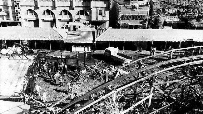 1979 Sydney Ghost Train fire Parks Fire and Events on Pinterest