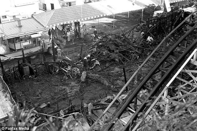 1979 Sydney Ghost Train fire The Luna Park Ghost Train fire of 1979 that killed seven people in