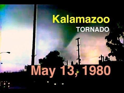 1980 Kalamazoo tornado Kalamazoo MI Tornado May 13 1980 Raw Video YouTube