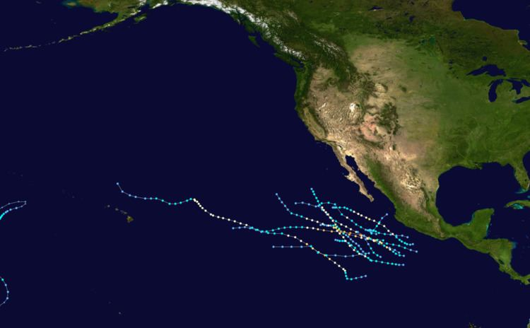 1980 Pacific hurricane season