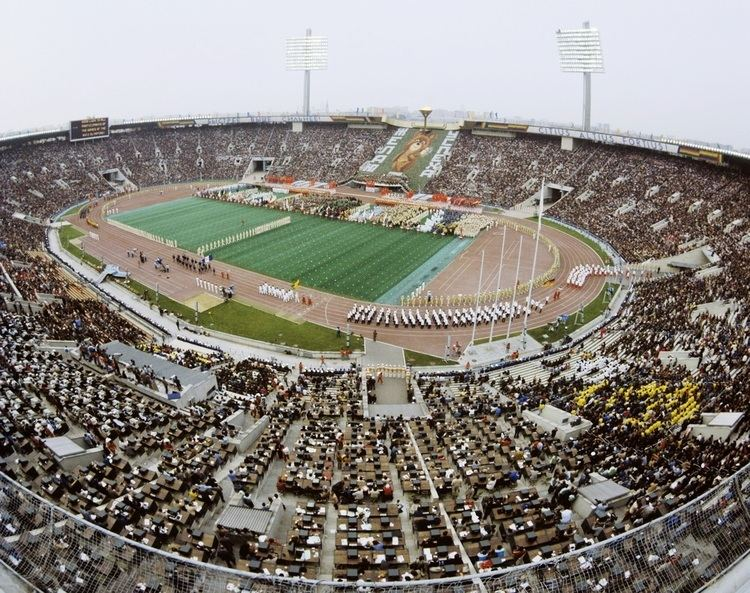 1980 Summer Olympics opening ceremony
