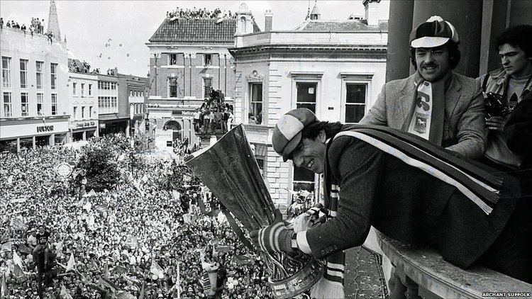 1981 UEFA Cup Final BBC News In pictures Ipswich Town39s 1981 Uefa Cup victory