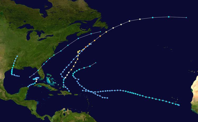 1982 Atlantic hurricane season