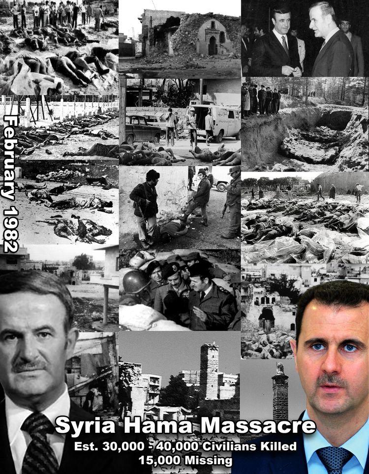1982 Hama massacre Syria 1982 Hama Massacre by Hafez AlAssad Collateral Damage