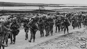 1982 invasion of the Falkland Islands Falklands invasion 39surprised39 Thatcher BBC News