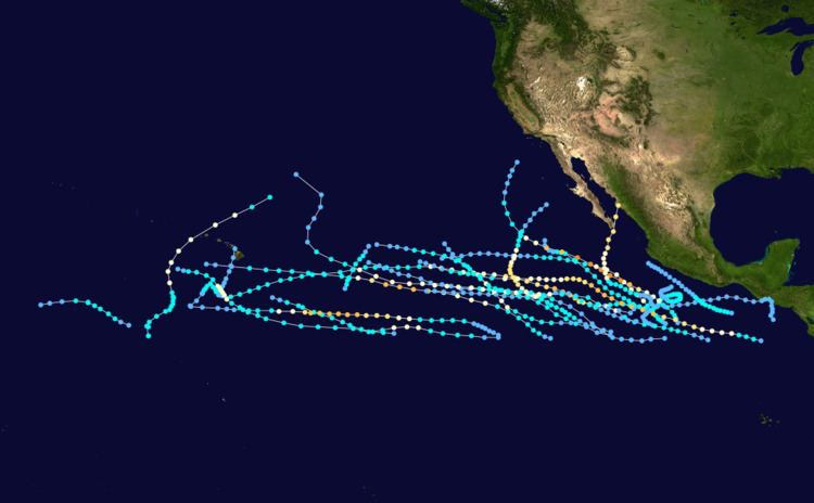 1982 Pacific hurricane season
