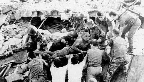 1983 Beirut barracks bombings The Beirut Barracks Bombings October 23 1983 in Beirut Lebanon