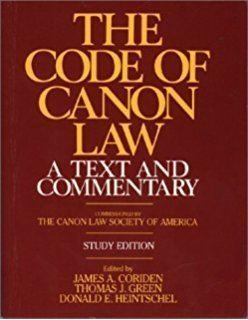 1983 Code of Canon Law httpsimagesnasslimagesamazoncomimagesI5