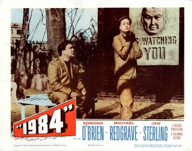 1984 (1956 film) Catch up on all the Belly Buzz Movie Lobby Card Gallery 1984